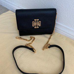 Tory Burch Wallet Lambskin Leather CrossBody Bag